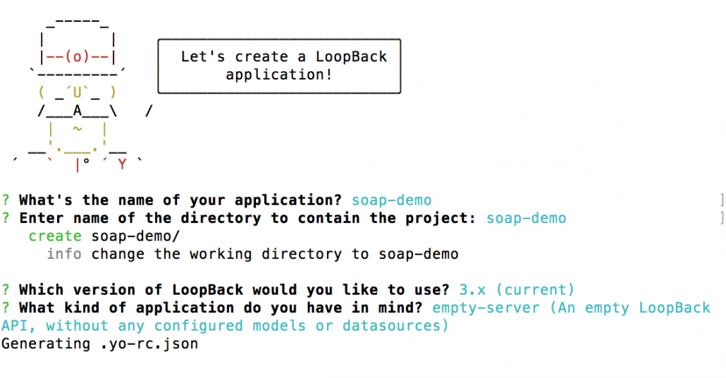 Building Enterprise APIs for SOAP Web Services using LoopBack -soap-demo