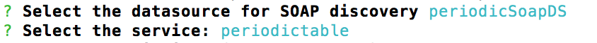 Building Enterprise APIs for SOAP Web Services using LoopBack - select service