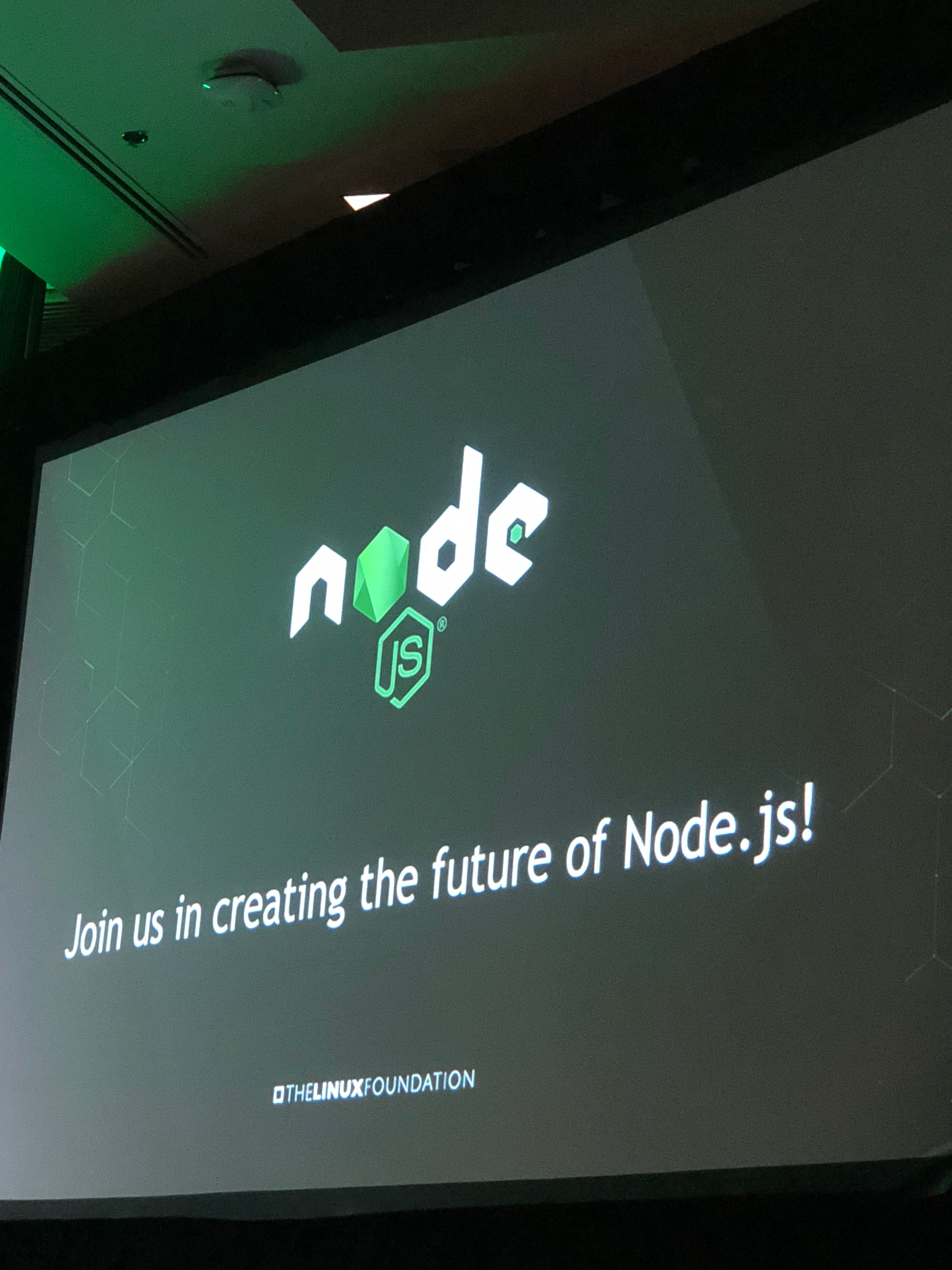 Node.js: Join us in creating the future of Node.js!
