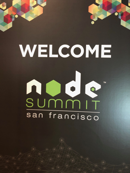 Welcome to NodeSummit Sign