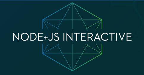 Node+JS Interactive 2018