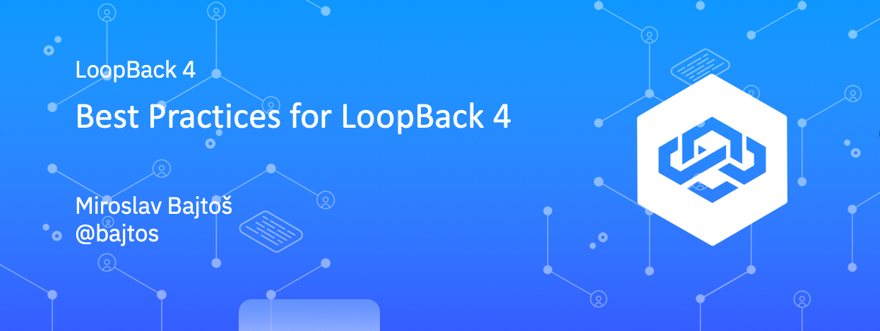LoopBack 4 Guidelines